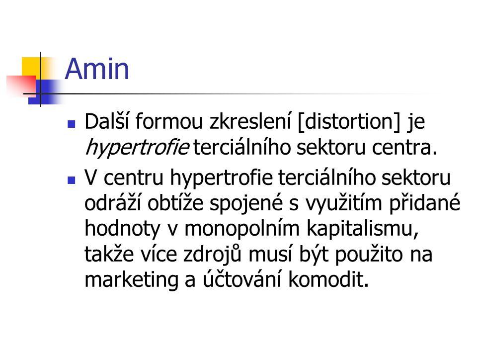 Amin Další formou zkreslení [distortion] je hypertrofie terciálního sektoru centra.